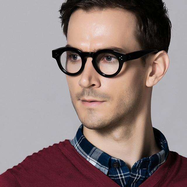 Vazrobe Acetate Glasses Men Women Cat Eye Small Eyeglasses Frames for Male Myopia Diopter Vintage Tortoise Black Nerd Points