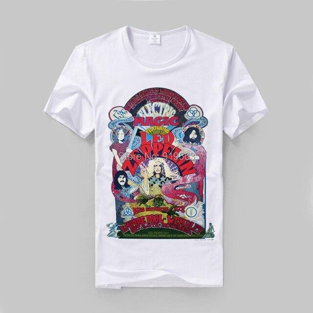 Led Zeppelin The Who Grateful Dead prints men women t shirt vintage fashion designs