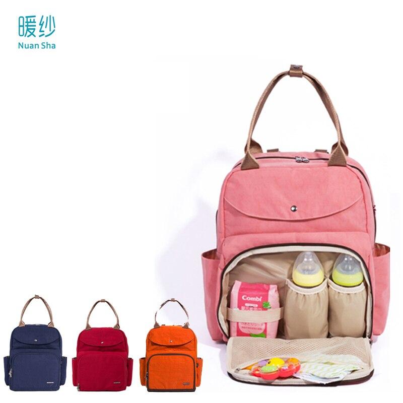 nuan sha brand wet bag waterproof baby diaper nappy changing mother mummy backpack shoulder bag. Black Bedroom Furniture Sets. Home Design Ideas