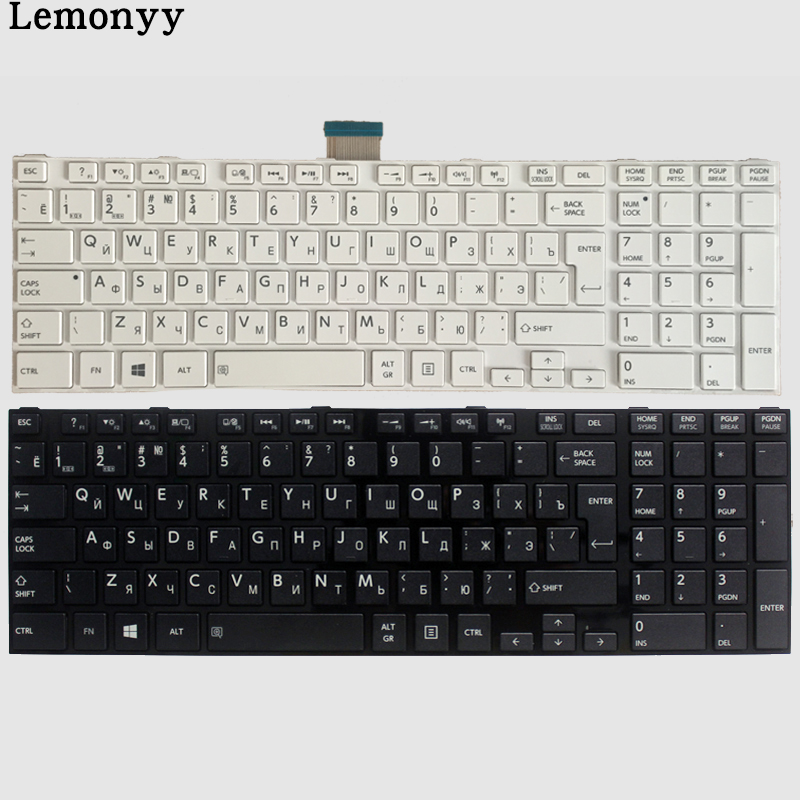 NEW Ru Keyboard For Toshiba Satellite L50-A S50-A S55-A L70-A L75-A C70-A C75-A  Russian Keyboard Black/white