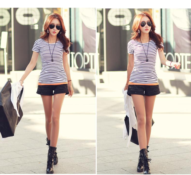 HTB1.C8EPVXXXXa apXXq6xXFXXXg - Volocean Summer Casual T-shirts For Women Classic Cotton