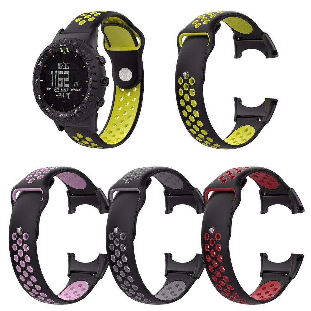 XBERSTAR Sport Wrist Band Bracelet Strap for Suunto Core Accessory Silicone Smart Watch Wristbands цены