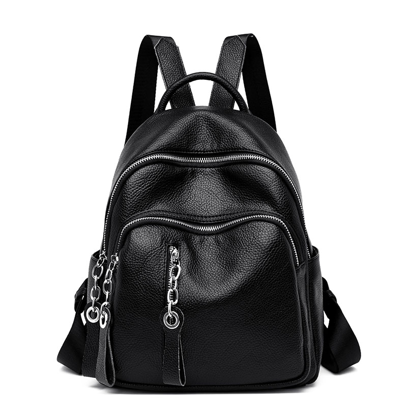 Vintage Backpacks For Women Leather Backpack Sac A Dos School Bag Mochilas Back Pack Ladies Rucksacks For Girl