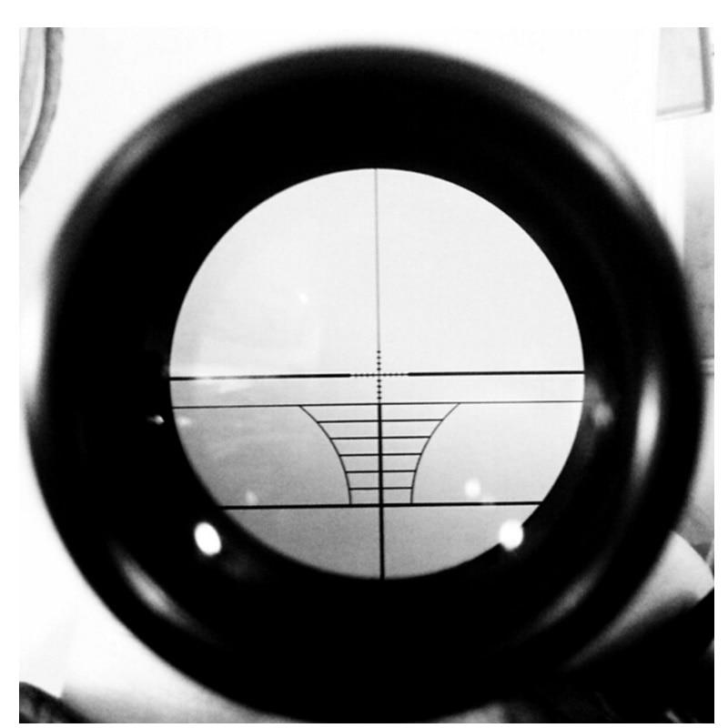 3-9X40 Ajustable al aire libre Riflescope táctico Retículo Vista - Caza - foto 4