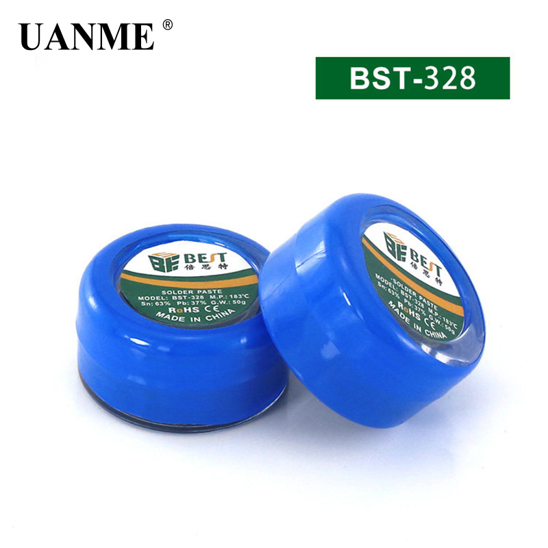 BEST Solder Paste 50g Strong Lead-containing Lead-Free Silver Soldering Flux PCB BGA SMD Mobile Phones repair Welding
