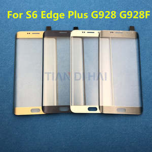 Image 2 - S6+ Front Outer Glass Lens Cover replacement For Samsung Galaxy S6 Edge Plus G928 G928F S6Edge G925 LCD glass & B 7000 Glue Tool