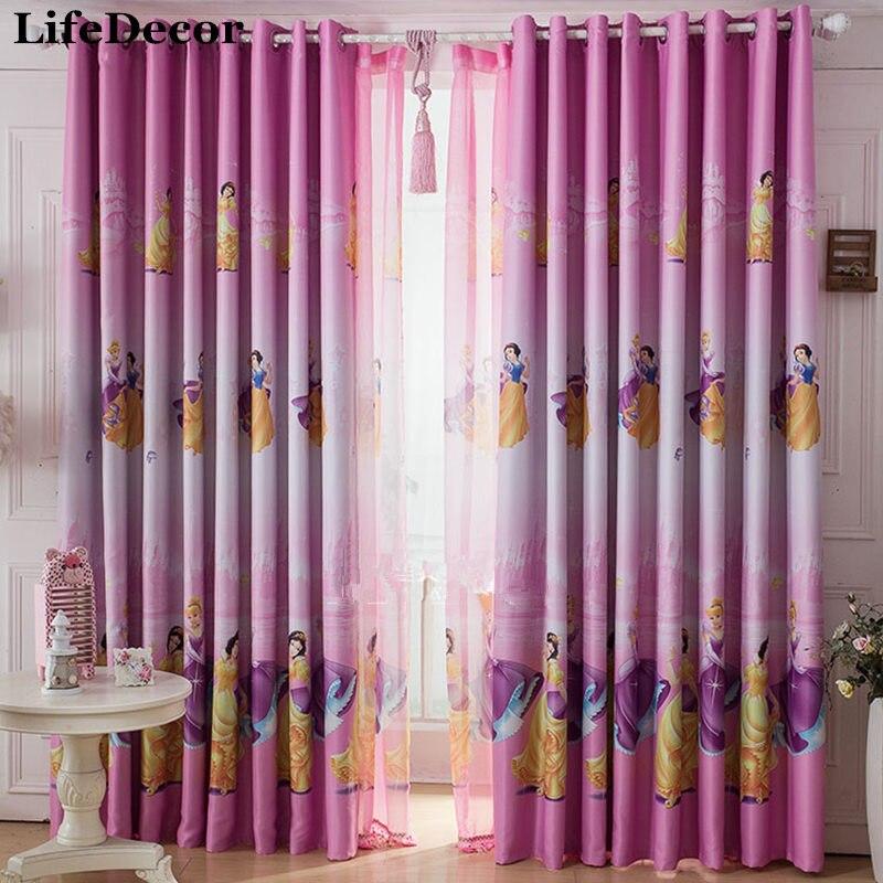 cortinas de ventana dormitorio infantil chica real cortina de tela sombra completa tela solshading