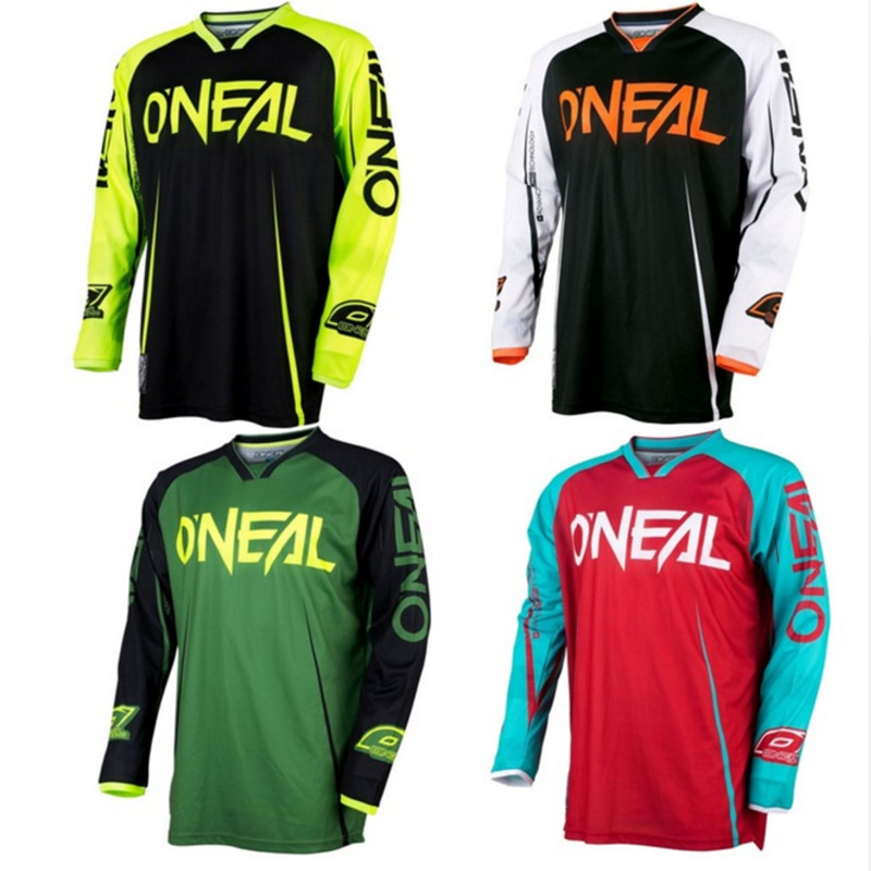 2018 New Arrival Cycling Jersey green red black Moto GP Mountain Bike  Motocross Jersey BMX DH MTB T Shirt Clothes orange cdfc4f093