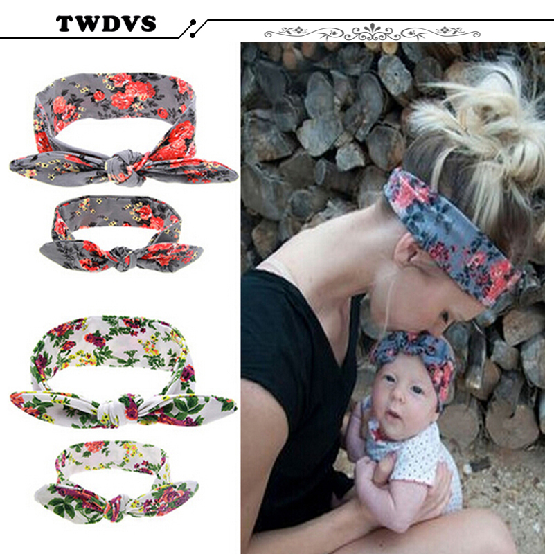 Hair Bow for women Turban Knitted Knot Headband Children Headwear Newborn Hair Bands Kids Hair Accessories kt043