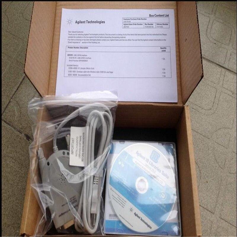 NOUVEAU 82357B USB-GPIB Interface Haute Vitesse USB 2.0 En Bon État