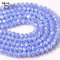 6mm Österreich Faceted Rondelle Spacer Perlen Liefert für Schmuck Machen Kristal Perlen Ab Farbe Lose Glas Kristall Perlen Z139
