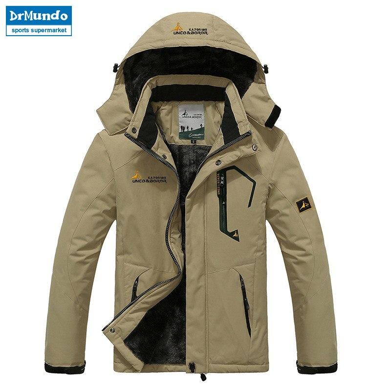 Veste de Ski homme imperméable polaire veste de neige manteau thermique pour extérieur Ski de montagne Snowboard veste grande taille marque - 2