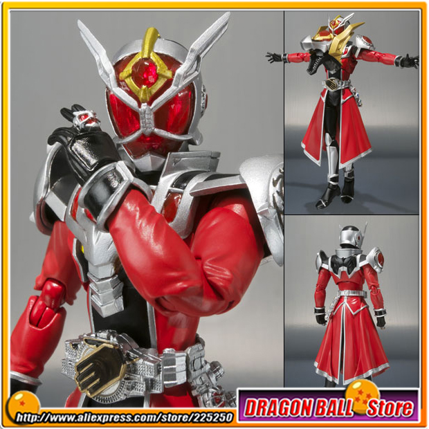 Japan Kamen Rider Wizard Original BANDAI Tamashii Nations SHF/ S.H.Figuarts Toy Action Figure - Flame Dragon
