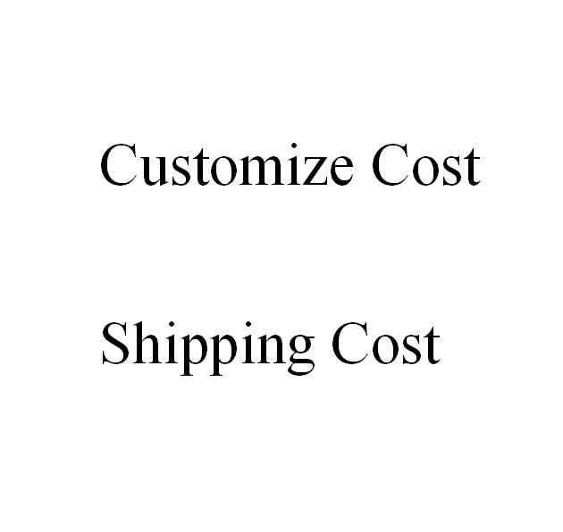 Costo de envío, los cristales personalizan el costo