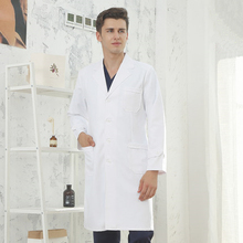 Белая лабораторная одежда доктора Женская лабораторная одежда медсестры одежда врача косметолога Мужская медицинская помощь