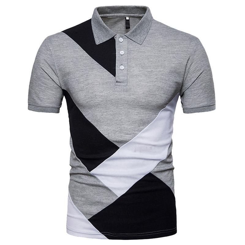333a8e04fe3e Dropwow Laamei Men 2018 Summer Fashion Camisa Polo Shirts High ...