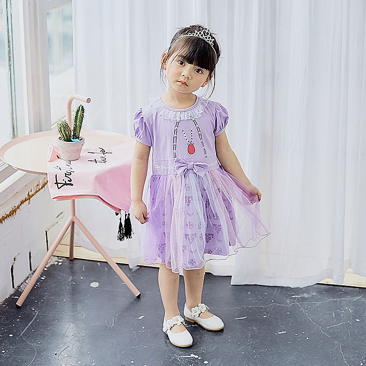 F5175 Fairy Halloween Brithday Princess Toddler Baby Girl Dress A-line Summer Kids Dresses For Girls Wholesale Baby Girl Clothes