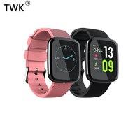TWK 2019 New Smart Watch Women Men Waterproof Watchband Fitness Bracelet pk apple mi band 2 akilli saat reloj hombre feminino
