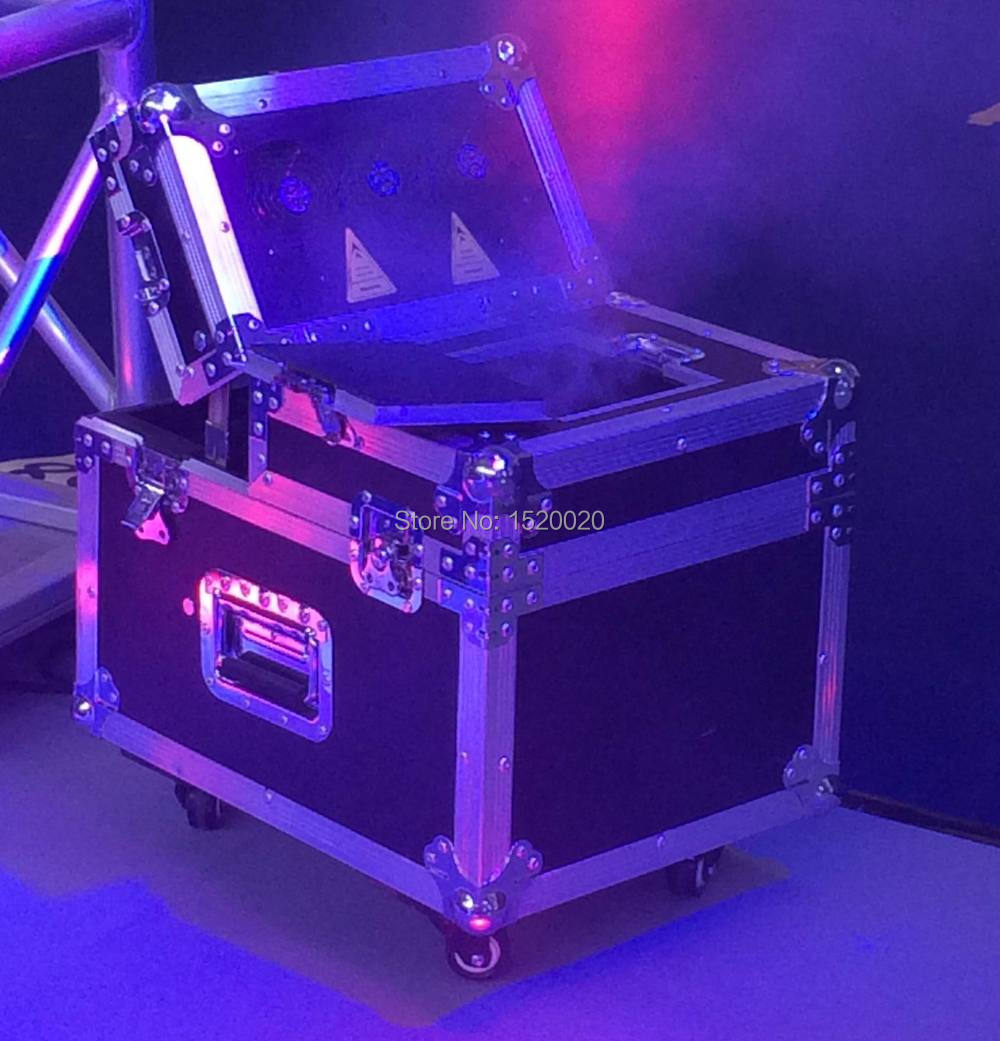 600w Stage smoke hazer with flycase DMX dual haze Machine Case stage fog machine smoke effects hazer
