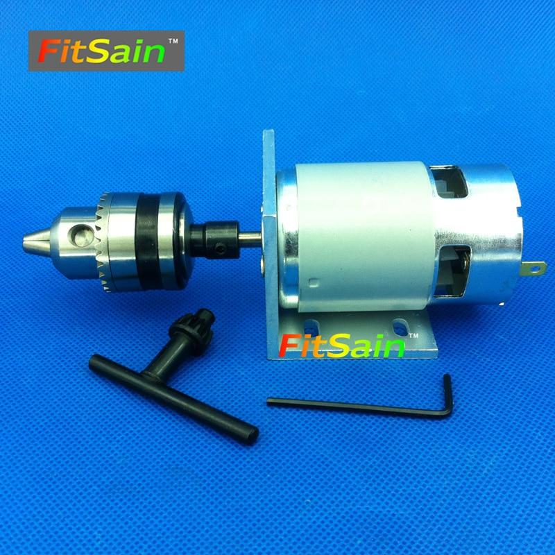 FitSain - Cuscinetto a sfere 775 motore 24 V 8000 RPM mini pcb - Utensili elettrici - Fotografia 2
