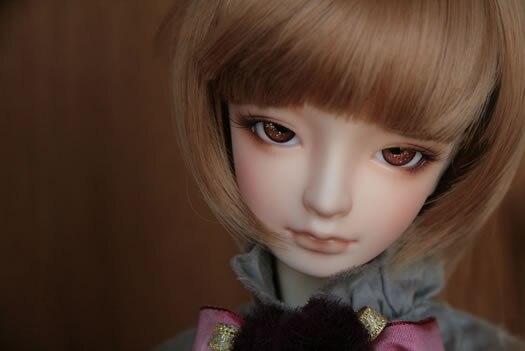 BJD / SD doll 1/4 teach C female baby joint doll full birthday gift(free eyes