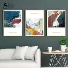 CREATE&RECREATE Nordic Poster Modern Abstract Posters And Prints Canvas Painting Decorative Picture For Living Room CR1810113016