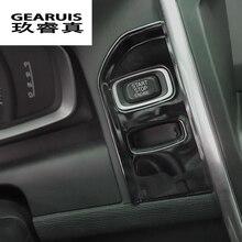 Специальный автомобиль подкладке Замочная скважина декоративные панели Крышка отделка черный лента из нержавеющей стали кольцо для ключей чехол стикер для Volvo XC60 XC70