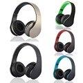 Bluetooth inalámbrico auriculares estéreo plegable auriculares auriculares casque audio bt w/tarjeta sd micro solt radio fm para samsung galaxy