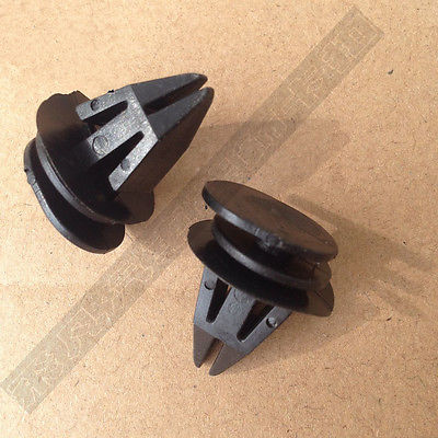 20x For BMW Mini Side Sill Skirt Trim Fastener Clips Black R50 R53 R56 R57 R58