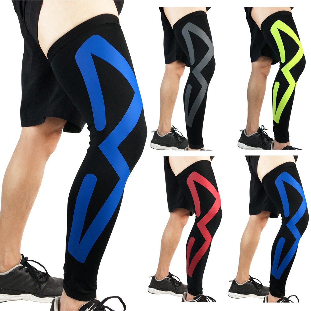 Sports Knee Pads Compression Basketball Elastic Thigh Leg Sleeve Protective Gear SPSLF0060
