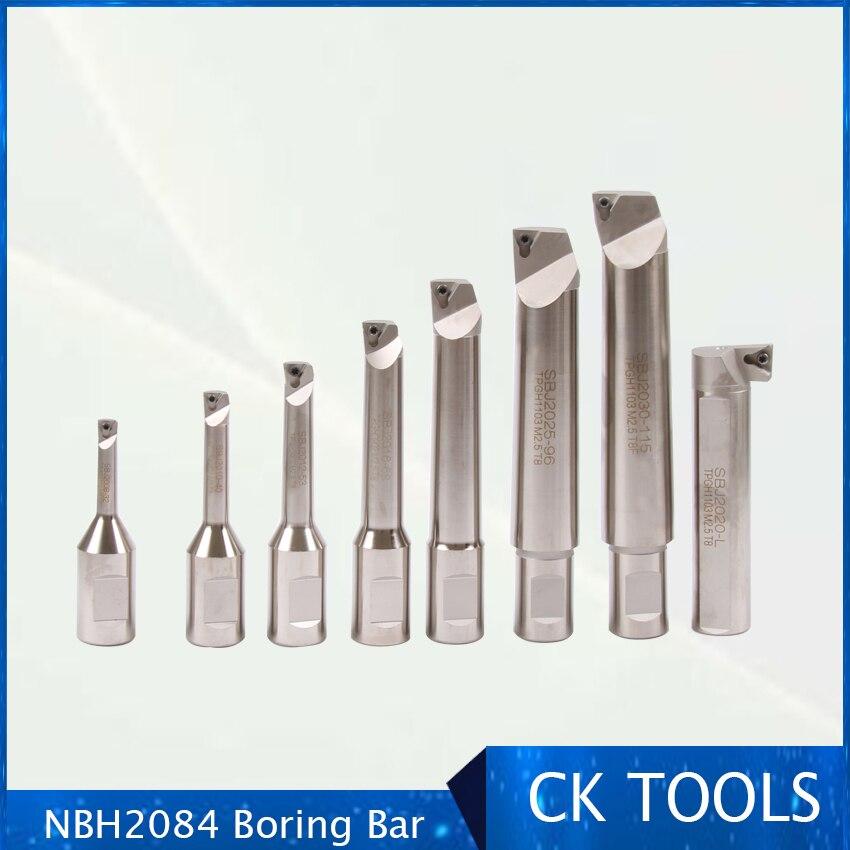 Bom preço sbj2025 96mm 1 pçs barra chata nbh2084 ferramenta do cilindro haste para nbh2084 chato cabeça sistema
