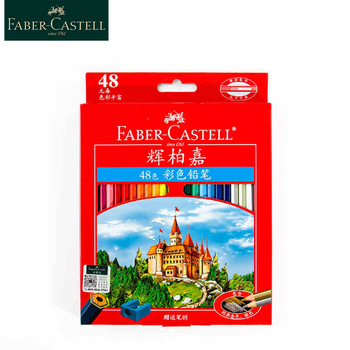 цены Faber Castell Oily Colored pencil 24/36/48/72/100Colors Professional Painting Set Color Pencils For Drawing Sketch Art Supplies