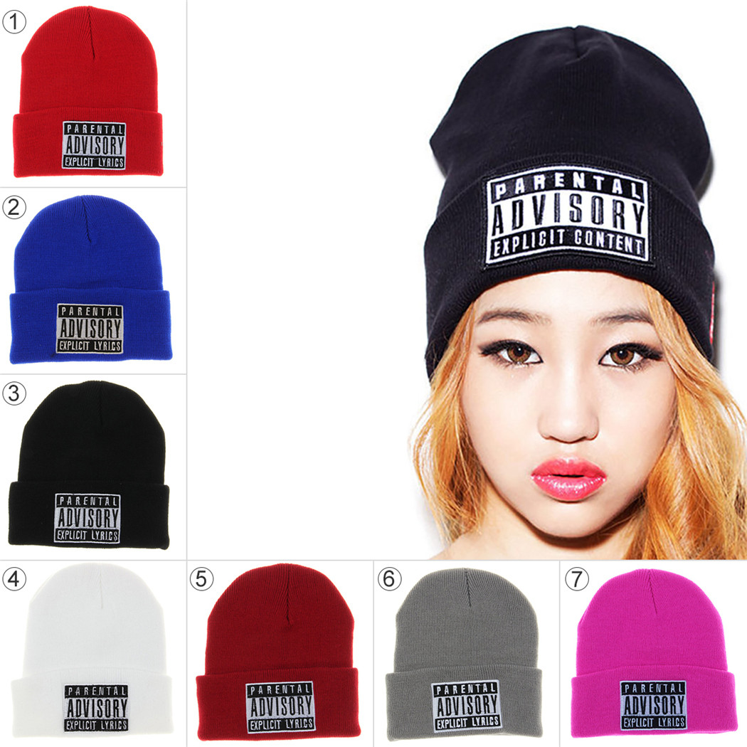 6b46eabd571 Winter Knitted Hats Rick and Morty Classical Language Warm Skullies Beanie  Embroidery Skiing Knit Hats Beanies Cap Brand Gorros