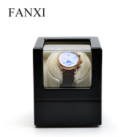 FANXI High Quality Mechanical Watch Maintenance Equipment Solid Wood with Piano Lacquer Watch Shaker Case for Pocket Watch box