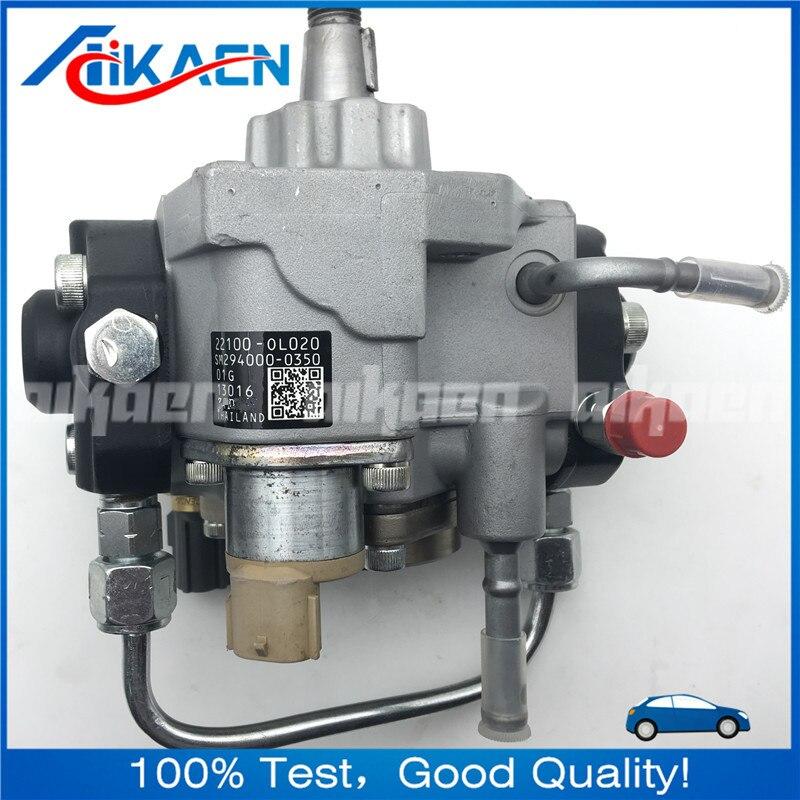 Remanufatura injector bomba de combustível apto para TOYOTA 1KD 22100-0L020 FTV HILUX 22100 0L020 294000-0350 294000-0352