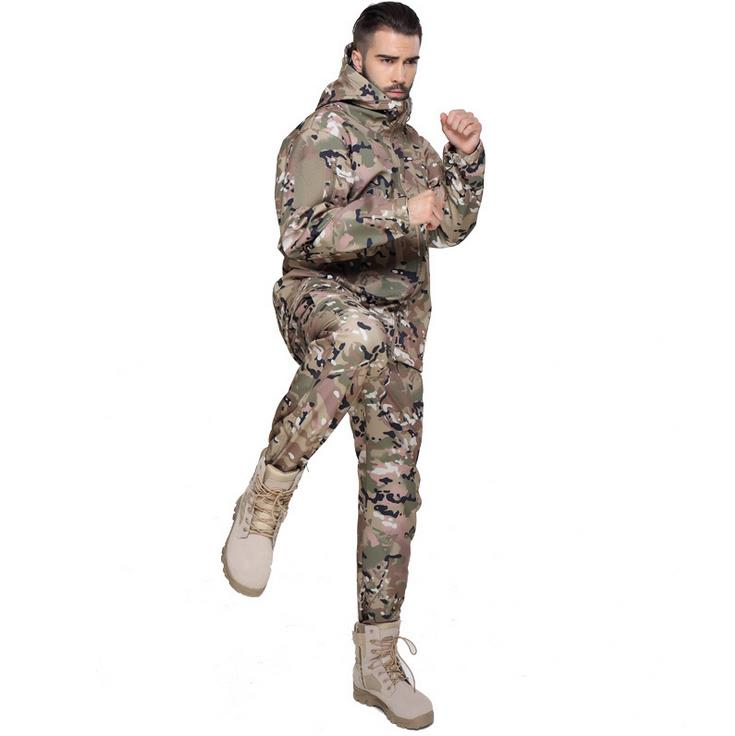 Jungle camouflage Outdoor Realtree Camouflage Hunting Clothes Breathable Hiking Realtree Camo Clothing Waterproof Hunting Suits windproof realtree camouflage suits wild hunting clothing oem vision