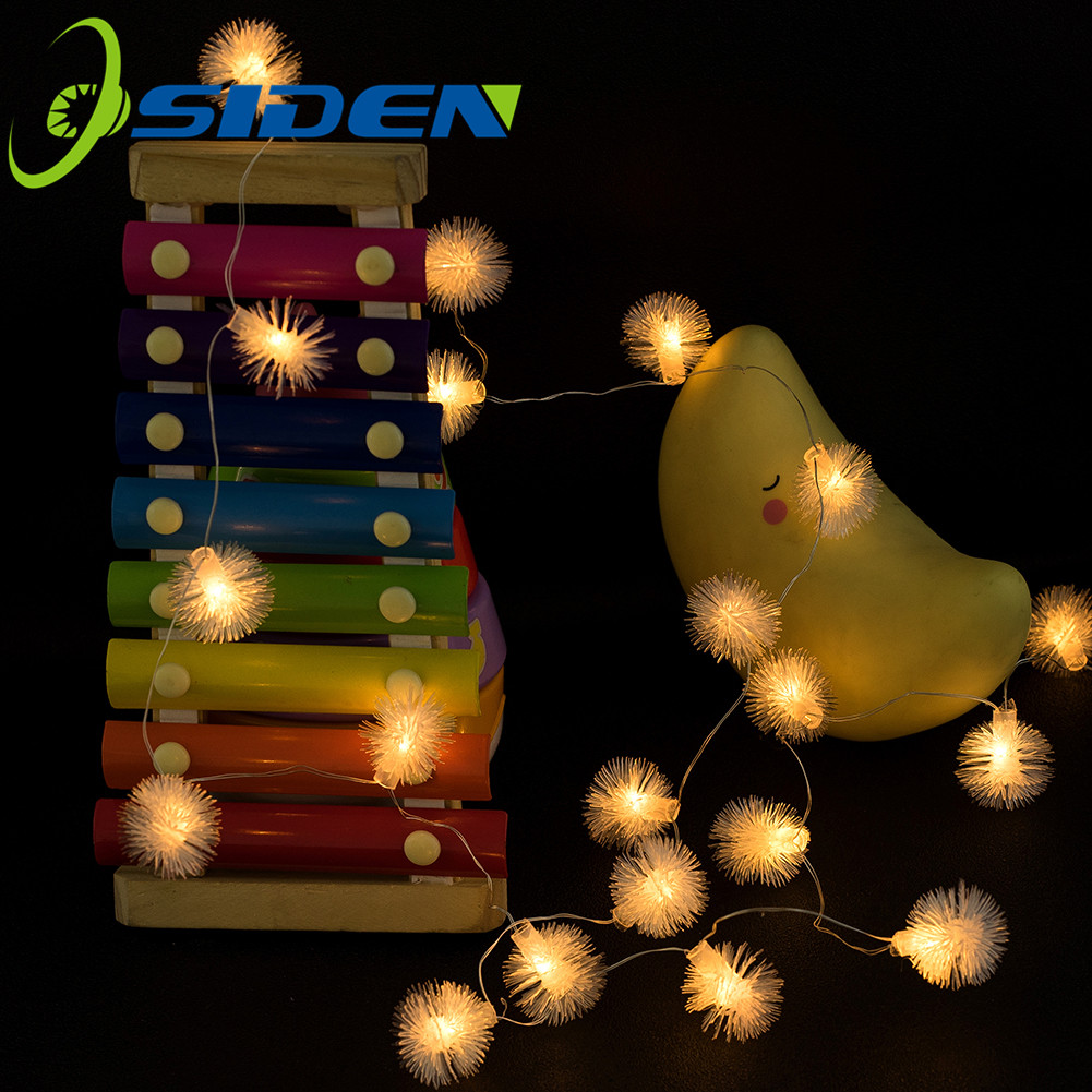 Fariry String 20 50LEDs 3AA Battery USB Lights Garland Micro LED Copper Wire Snow For Party Christmas XMAS Wedding Outdoor