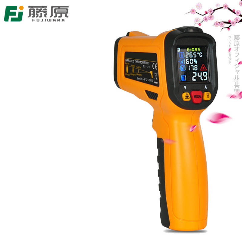 FUJIWARA Infrared Temperature Instrument -50-800 Centigrade  Industrial Household Infrared Thermometer Gun Digital Thermometer new industial instrument precision industrial digital thermometer temperature controller for welding machine best