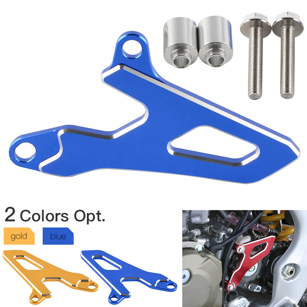 Front Sprocket Cover Chain <font><b>Protector</b></font> Guard For <font><b>Yamaha</b></font> YZ250 YZ250F YZ250X WR250F YZ <font><b>250</b></font> <font><b>WR</b></font> 250F For Suzuki RMZ250 RMZ450 RMZ 450 image