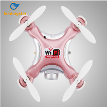 LeadingStar 2017 RC Quadcopter CX-10W Wifi FPV zero.3MP Digicam LED 3D Flip 4CH CX10 Replace Model Drone BNF Helicopter Toy zk30