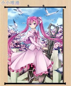 Japanese Decorative Pictures Anime Akame ga KILL! character sexy girl Chelsea & Sheele & Mine Home Decor Wall Scroll Poster(China)