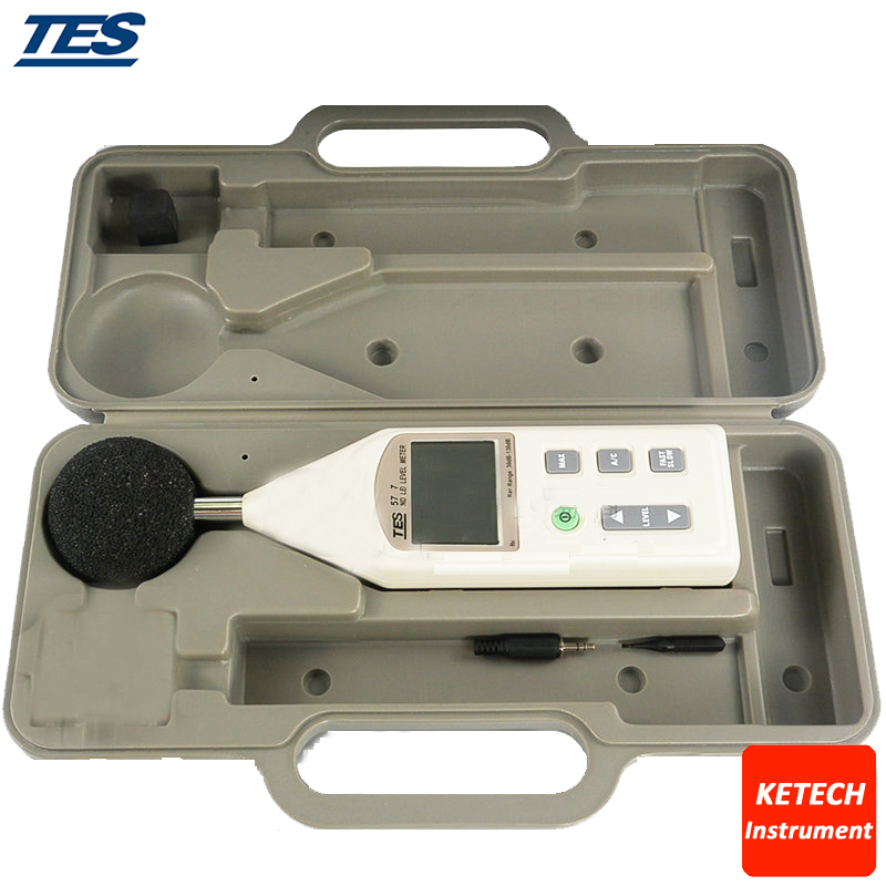 Sound Level Meter 30 To 130 DB TES-1357