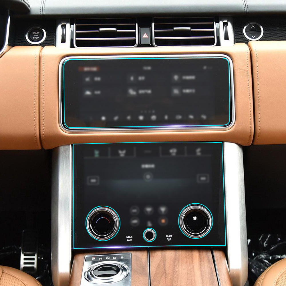 Sticker For Range Rover Sport Transparent Promotion Tpu: Self Healing Clear Car Interior Transparence Film Central