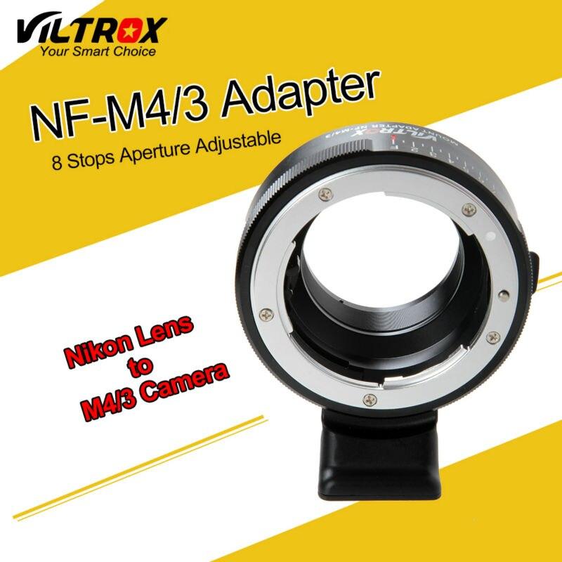 viltrox Aparat de fotografiat NF-M43 Adaptor de 8 trepte pentru Nikon - Camera și fotografia