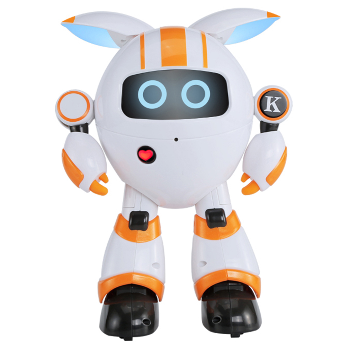 Smart Walking Robot RC Electronic Dancing Singing Robot Toy For Children Robot Toys For Kids Boys Birthday Gift   Blue New|  - title=
