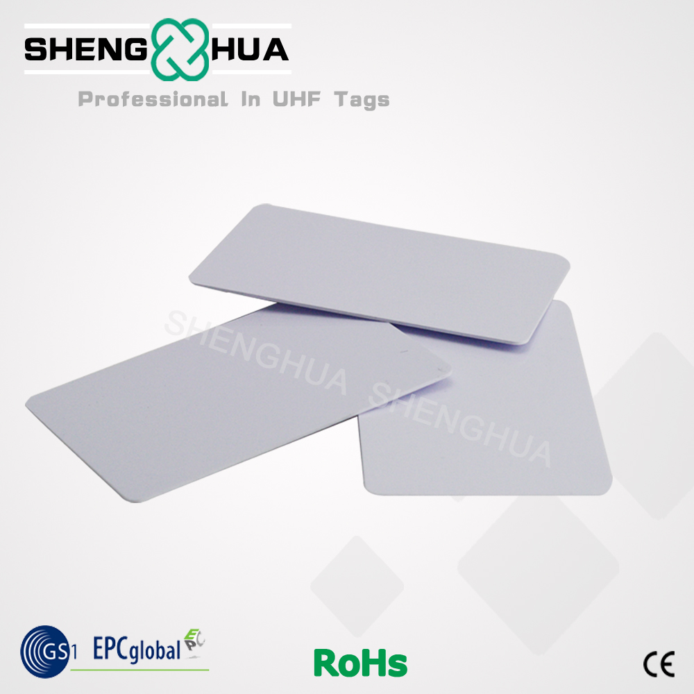 200pcs Rfid Blank Pvc Card Uhf Passive Smart Waterproof Rfid Label Tag For Rfid Electronic Key Access Control Management System