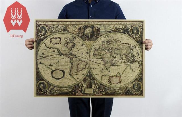 7151cm nautical maps poster vintage style retro cloth poster globe 7151cm nautical maps poster vintage style retro cloth poster globe old world nautical map gumiabroncs Gallery