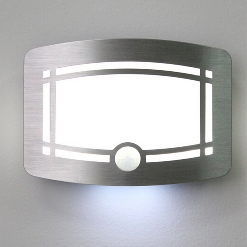 Wireless Motion Sensor Activated Led Wall Night Light
