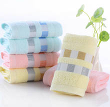 New Arrival Soft Cotton Bath Towels Beach Towel For Adults Absorbent Terry Luxury Hand Face Sheet Adult men women basic Towels(China)
