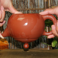 Authentic 800ml Large Capacity Teapot Famous Beauty Pot Handmade Red Ore Purple Clay Teapot Chiense Zisha Crafts Free Shipping